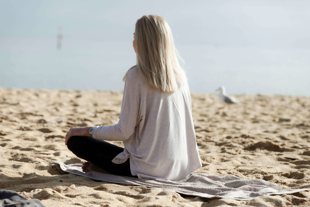 Meditation Classes on the beach Mornington