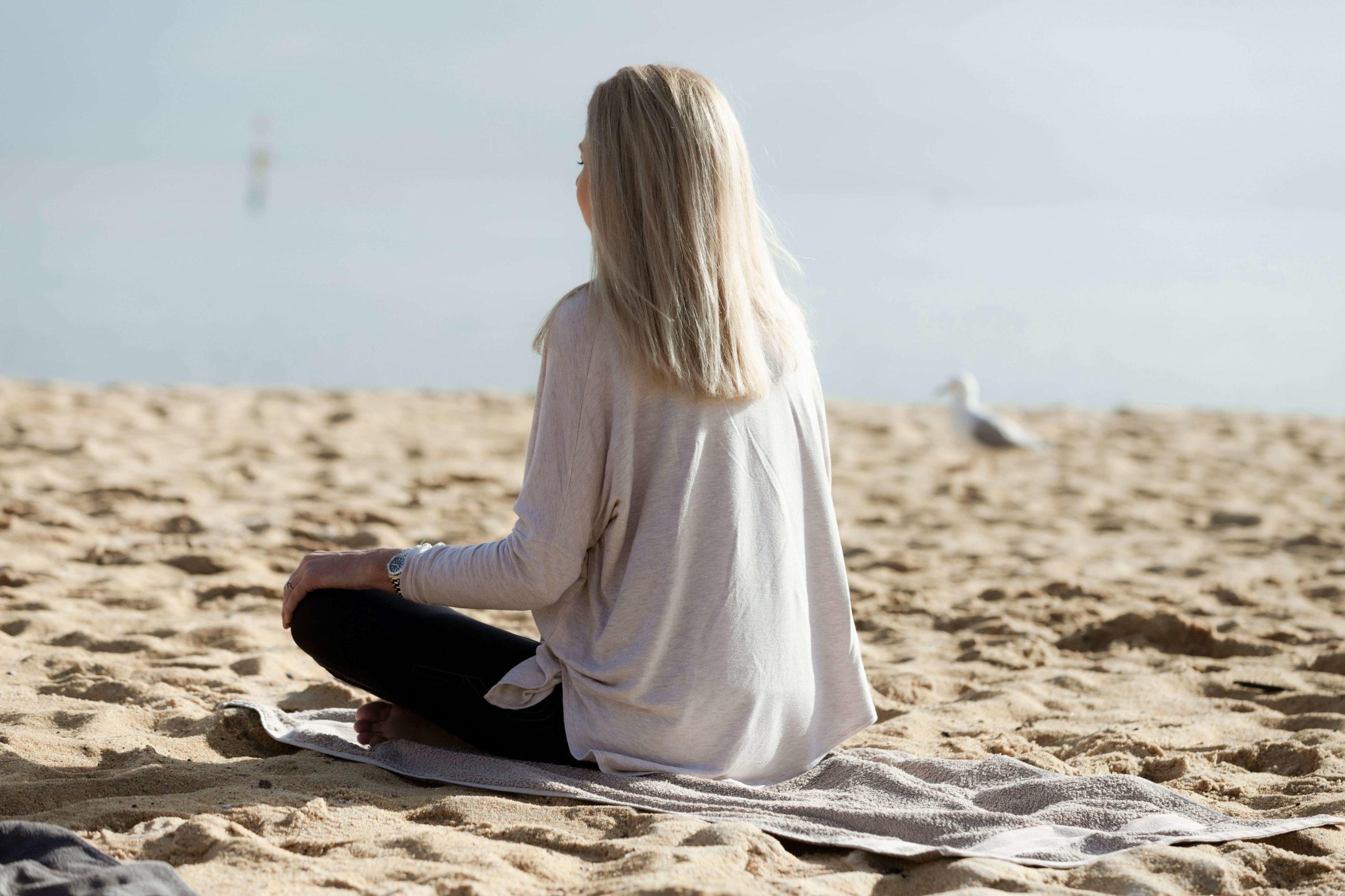 Meditation Classes on the beach Mornington